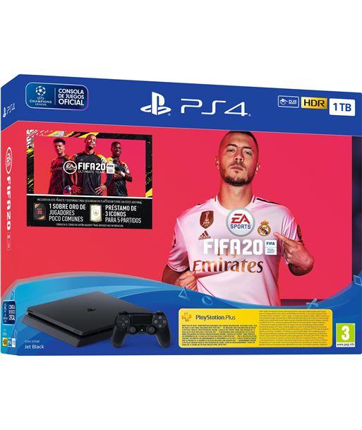 Play consola sony ps4 1tb + fifa20 + cupon futvch + 14 days ps 9974703 - 711719974703