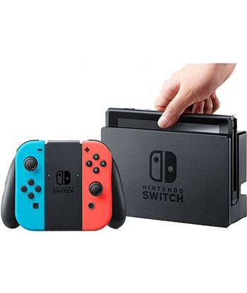 Informatica consola nintendo switch neon rojo switchneon