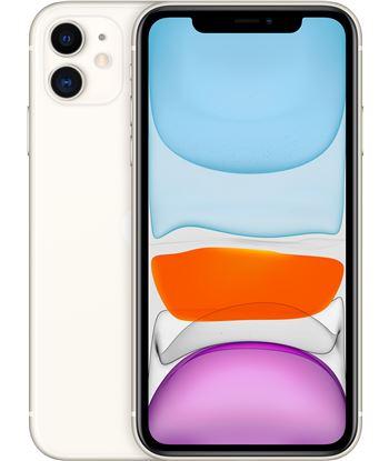 Apple movil iphone 11 6,1'' 128gb white mwm22ql_a Telefonos móbiles - MWM22QLA