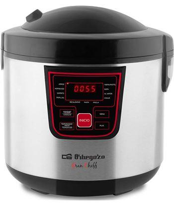 Robot cocina Orbegozo MCP6000 5l 860w 11 programas inox