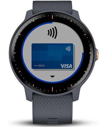 Garmin VIVOACTIVE 3 MUsic azul granito y oro rosa smartwatch multideporte g - VIVOACTIVE 3 MUSIC