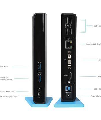 Nuevoelectro.com docking station i-tec u3hdmidvidock - conexión usb 3.0 - salidas 1xdvi - 1x - 22806950_9399403949