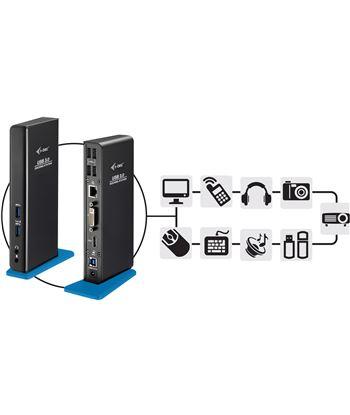 Nuevoelectro.com docking station i-tec u3hdmidvidock - conexión usb 3.0 - salidas 1xdvi - 1x - 22806950_6480434837