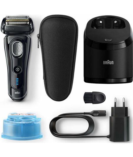 Afeitadora Braun serie 9 9250cc negra - 5 elementos de afeitado - cabezal f 217244 - 59141240_3720022349
