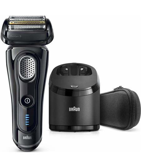 Afeitadora Braun serie 9 9250cc negra - 5 elementos de afeitado - cabezal f 217244 - 217244