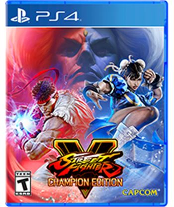 Juego para consola Sony ps4 street fighter v champion edition SFVCE