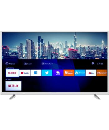 Tv led 108 cm (43'') Grundig 43GDU7500W ultra hd 4k smart tv blanco