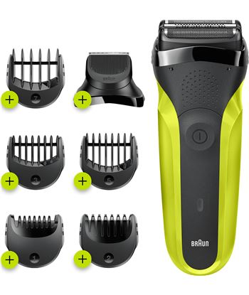 Braun 300BT afeitadora eléctrica series 3 shave & style 3 en 1