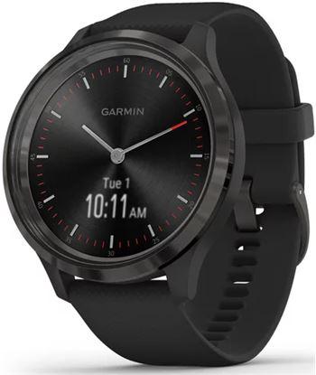 Reloj inteligente con gps Garmin vivomove 3 color pizarra con correa negra 010-02239-01