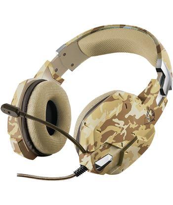 Auriculares con micrófono Trust gaming gxt 322d desierto camuflaje - mando 22125
