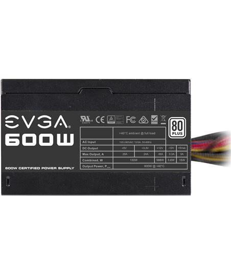 Nuevoelectro.com fuente de alimentación evga 100-w1-0600-k2 600w - ventilador 12cm - pfc act - 30574483_2448