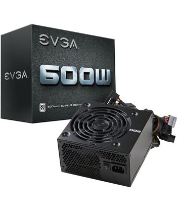 Nuevoelectro.com fuente de alimentación evga 100-w1-0600-k2 600w - ventilador 12cm - pfc act