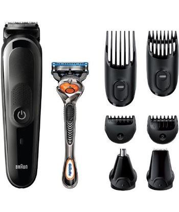 Braun MGK5260 recortadora de barba y cuerpo 8 en 1 con 6 accesorios y maqui