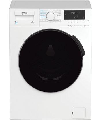 Lavadora-secadora Beko HTV7716DSWBT 7/4kg 1400rpm blanca a