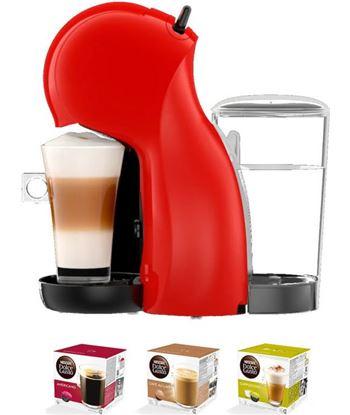 Delonghi cafetera de capsula piccolo edg210r xs dolce gusto rojo PACKEDG210R(3P)