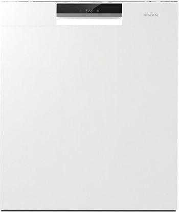 Hisense lavavajillas h6130w blanco HS-6130W Lavavajillas de 60