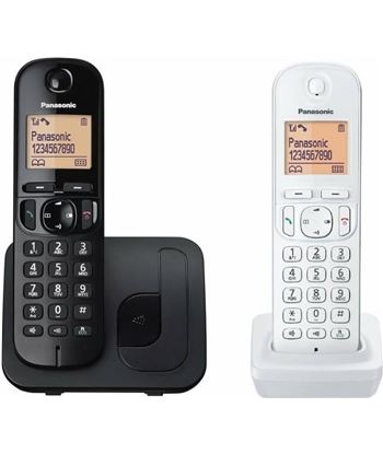 Siemens teléfono inalámbrico dect panasonic kx-tgc212jt1 negro con terminal adicion kx-tgc212jt1 bw