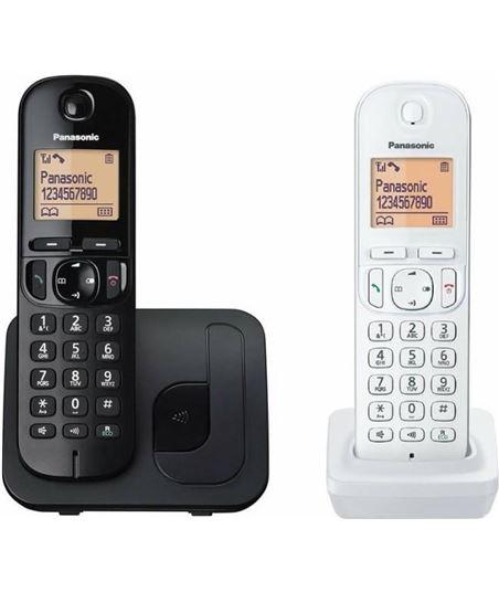 Siemens teléfono inalámbrico dect panasonic kx-tgc212jt1 negro con terminal adicion kx-tgc212jt1 bw - 5025232854288