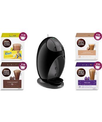 Delonghi PACKEDG250B(4P) cafetera de capsula de café dolce gusto jovia edg2508 negro - 8436564622570