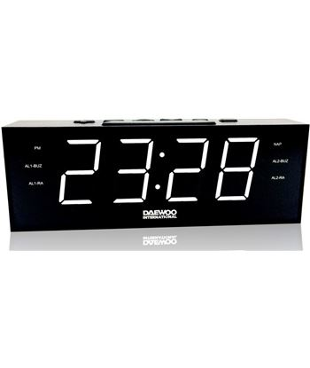 Radio reloj despertador Daewoo dcr-560 BXCQI10 Radio