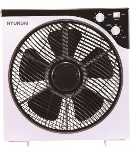 Hyundai HYVBF30LUX blanco y negro ventilador de suelo box fan 30cm - 8436564621559