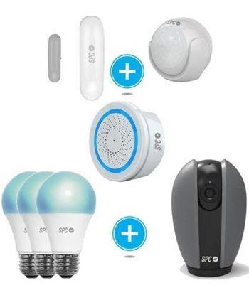 Spc 6910K-2 kit de seguridad + camara ip-bombillas led-sensor inteligente