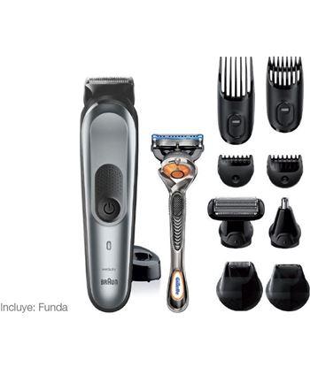 Braun MGK7221 recortadora de barba y cuerpo 10 en 1 con 8 accesorios y maqu