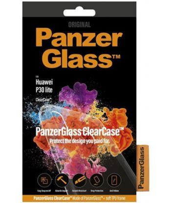 Carcasa transparente panzerglass 0199 para Huawei p30 lite - acceso a todas - 0199