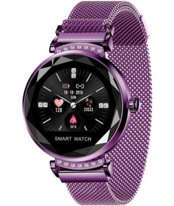 Reloj inteligente Innjoo lady crystal purple - registro distancia - ritmo c LADYC PURPLE
