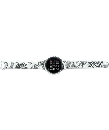 Reloj inteligente Innjoo voom mini black white - pantalla color 2.4cm - bt VOOM MINI BW