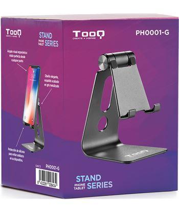 Nuevoelectro.com soporte para smartphone móvil / tablet tooq ph0001-g gris - almohadillas d - 62515105_3858784869