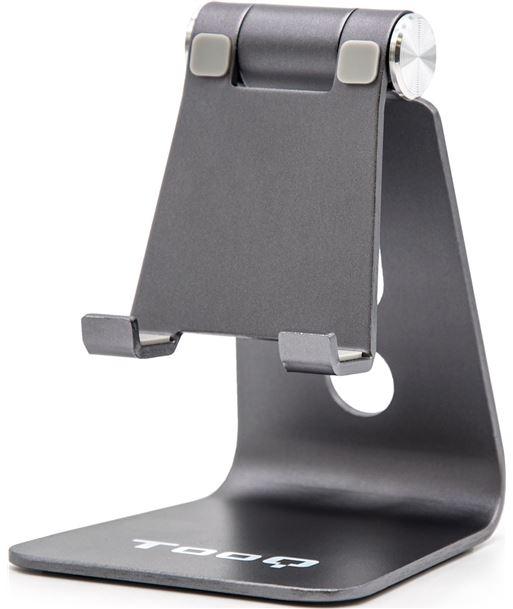 Nuevoelectro.com soporte para smartphone móvil / tablet tooq ph0001-g gris - almohadillas d - PH0001-G