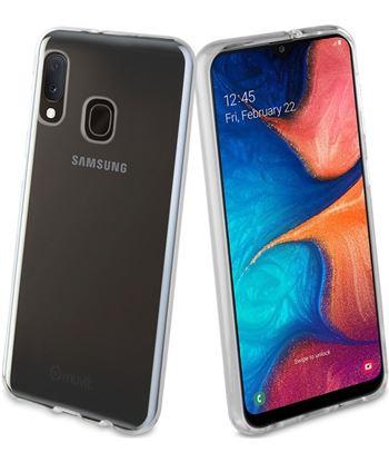 Carcasa muvit cristal soft transparente para Samsung galaxy a20e - flexible MUCRS0229 - MUCRS0229