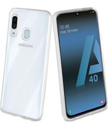 Carcasa muvit cristal soft transaparente para Samsung galaxy a40 - flexible MUCRS0226 - MUCRS0226