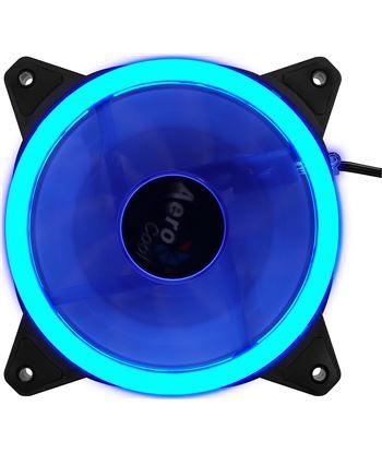 Ventilador Aerocool rev blue - 12cm - 1200rpm - 15.1dba - cojinete hidráuli REVBLUE