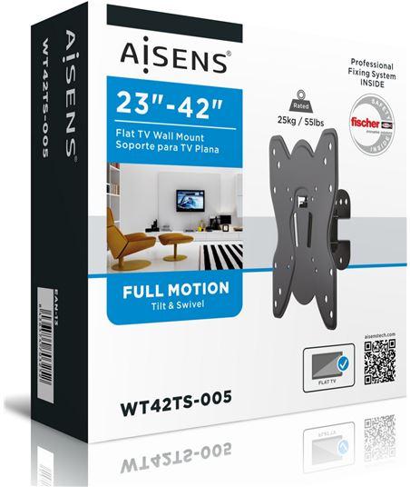 Nuevoelectro.com soporte de pared aisens wt42t005 para pantallas 23-42''/58-106cm - hasta 2 wt42ts-005 - 70342067_3082790025