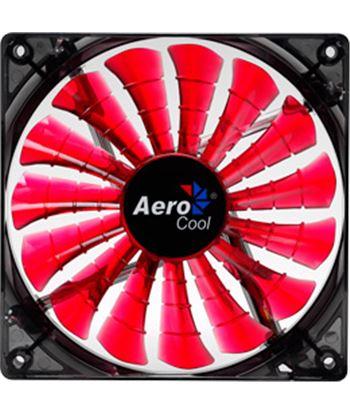 Ventilador Aerocool SHARKR14 rojo - modo silencioso/encendido - 14cm - 150