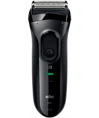 Braun 3020S NEGRA serie 3 3020s afeitadora eléctrica lavable bajo el grifo negra - 0421021147657