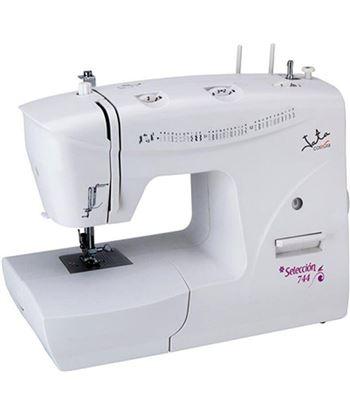 Maquina de coser Jata MC744 - 33 diseños de puntada - 2 portacarretes - mot