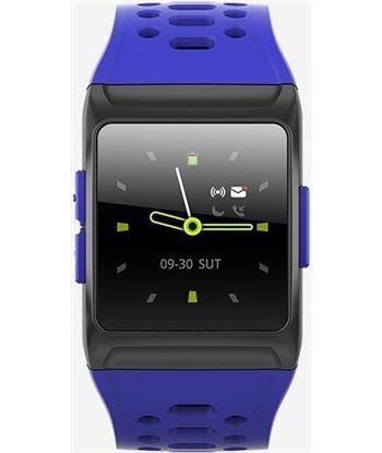 Spc 9632A azul smartwatch smartee stamina bluetooth ipx8 pulsómetro podómet