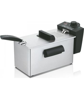 Freidora Haeger pro chips 3l cuba - 2000w - termostato regulable 190º - tap DF-3SS.012B