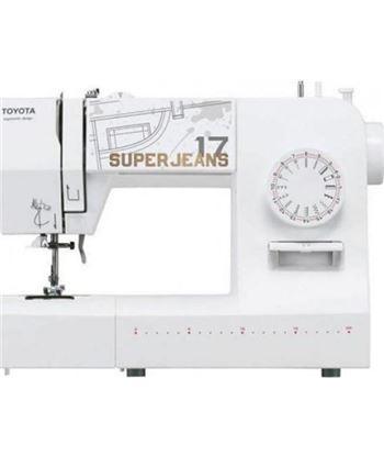 Maquina de coser Toyota SUPERJ17W súper jeans - 65w - 17 programas costura - 5411450005548