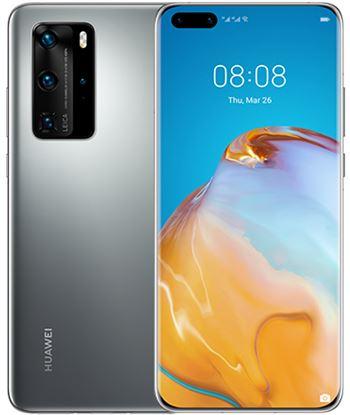 Smartphone móvil Huawei p40 pro silver - 6.58''/16.71cm - cámara (50+40+12+t 51095CAG - 51095CAG