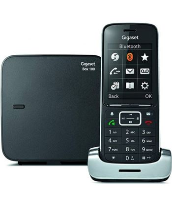 Siemens teléfono dect gigaset sl450 - agenda 500 nombres - pantalla color 6cm - man
