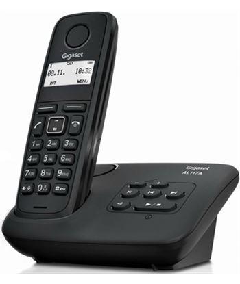 Siemens teléfono dect gigaset al117a - agenda 50 registros - indentificacion llamad