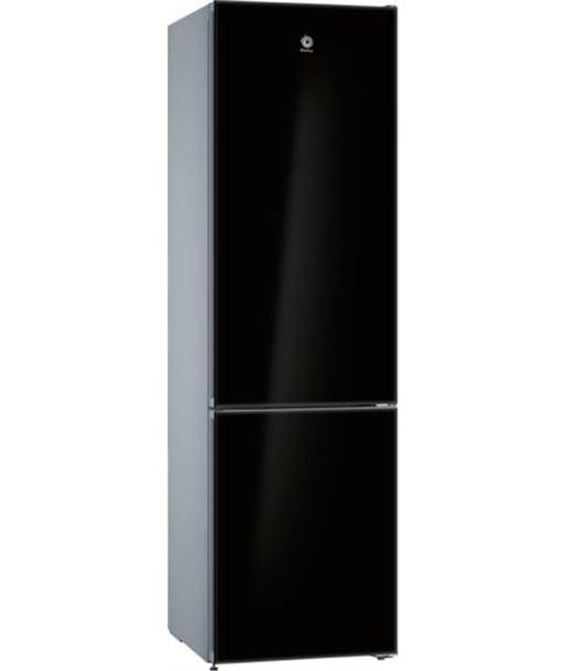 Balay frigorífico combi 3kfe765bi clase a++ 203x60 no frost cristal negro - 3KFE765BI