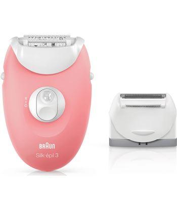 Depiladora Braun silk-epil 3 3-440 - tecnología smartlight - uso con cable 223511