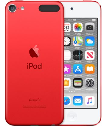 Apple ipod touch 256gb product (red) - mvjf2py/a mp3, mp4 y mp5
