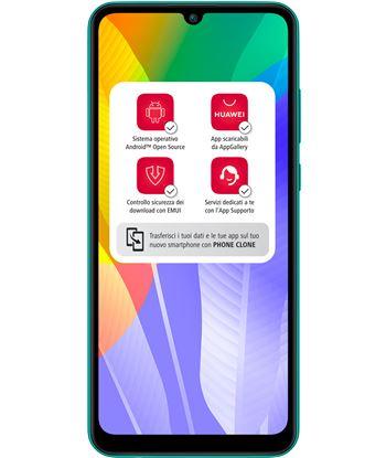 Smartphone móvil Huawei y6p esmeral green - 6.3''/16cm - cam (13+5+2)/8mp - Y6P GREEN - Y6P GREEN