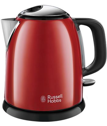 Russel RH24992-70 hervidor l hobbs mini colours plus+ 1l rojo - RH24992-70